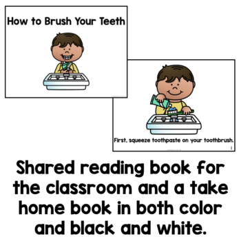 Sequence and Write: How to Brush Your Teeth