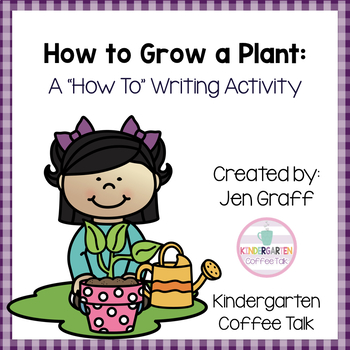 Sequence and Write: How to Grow a Plant