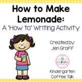 Sequence and Write: How to Make Lemonade