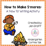 Sequence and Write: How to Make S'mores