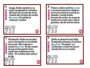 Sequence in Spanish