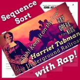 Sequencing Reading Comprehension Sort Using Harriet Tubman