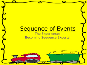Sequence of Events--- Experience