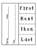 Sequence of Events Flip Chart