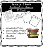 Sequence of Events, Reading Comprehension Activities, 1st Grade Reading