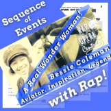 Sequence of Events Reading Passage Worksheets Using Bessie