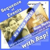 Sequence of Events Reading Passage Worksheets Using Rosa P