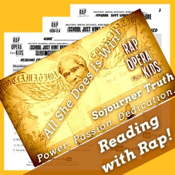 Sojourner Truth Sequence of Events Reading Passage Sequence of Events Worksheets