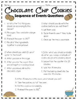 Sequence of Events Bundle