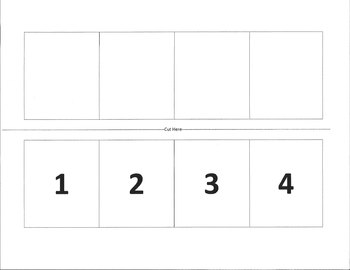 Sequence of Events Template