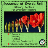 Sequence of Events Unit 1 for Emergent Readers