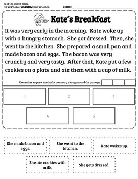 Sequence of Events Worksheet by TeachStudio | Teachers Pay Teachers