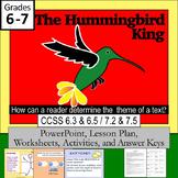 """The Hummingbird King""     Lesson PLUS"