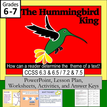 """The Hummingbird King""     Lesson PLUS"