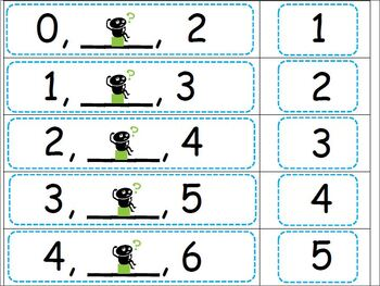 Sequence of Numbers 0-50 Bundle