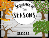 Sequence of the Seasons - Kindergarten Social Studies - SS