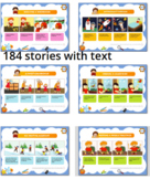 MEGA BUNDLE: sequence, sequencing stories and flashcards, autism, ABA, 384 pages