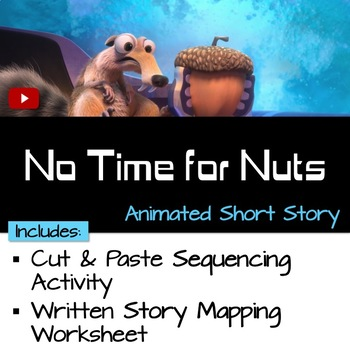 """Sequence the Story """"No Time for Nuts"""""""