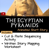 """Sequence the Story """"The Egyptian Pyramids"""""""