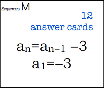 Sequences algebra2
