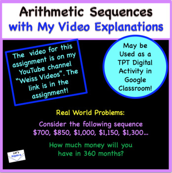 Sequences: Arithmetic and Geometric