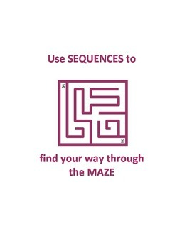 Sequences - Maze Activity