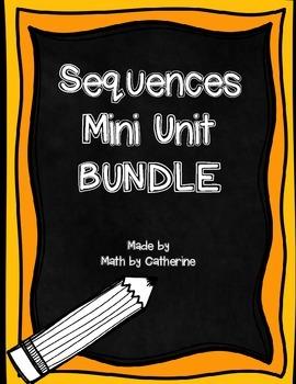 Sequences Mini Unit BUNDLE