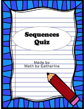 Sequences Quiz