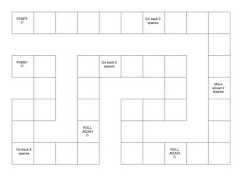 Sequences, Relationships, Function Tables Board Game