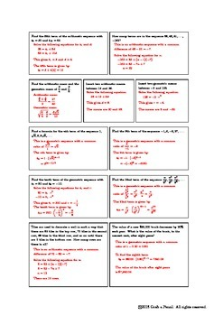 Sequences Review