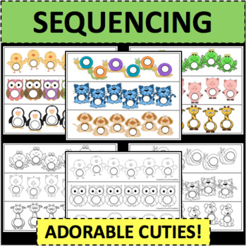 Sequences Sequencing Templates Cute and Fun Activity Game Activities