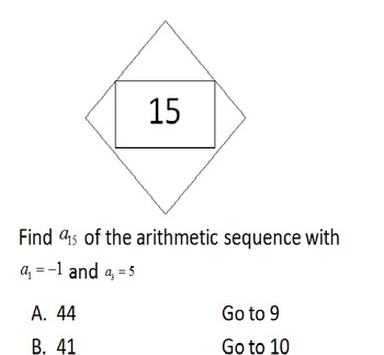 Sequences, Series & Sigma Notation Scavenger Hunt