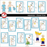 Sequences - Shower Time Clipart by Poppydreamz