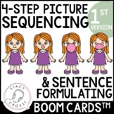 Sequences and Sentences: Boom Cards™