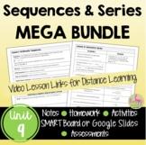 Sequences and Series MEGA Bundle (Algebra 2 - Unit 9)
