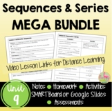 Sequences and Series MEGA Bundle (Algebra 2 - Unit 9)