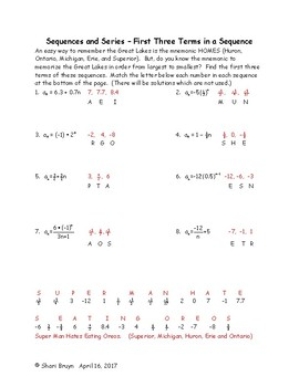 Sequences and Series Worksheet Answers   Briefencounters in addition Geometric Sequences and Series Worksheet Answers   Briefencounters together with Geometric Sequence Worksheet Answers Math Ex les Of  mon also Unit 7   8  Sequences  Series  and Financial Applications   D besides  moreover  together with geometric and arithmetic sequence worksheet math – joom club additionally  also Arithmetic review worksheet together with Arithmetic Sequences And Series Worksheet Answers   Free Printables likewise Sequence And Series Worksheet Math Sequence Grade Arithmetic Pattern besides Arithmetic Sequences And Series Worksheet – Writing Worksheet Inside further Kuta Infinite Algebra 2 Arithmetic Sequences Answers New moreover  further  together with Arithmetic Sequence Worksheet With Answers Arithmetic Sequence. on sequences and series worksheet answers