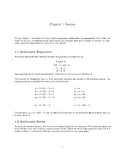 Sequences and Series Review