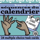 Séquences du Calendrier French BOOM Cards for Distance Learning