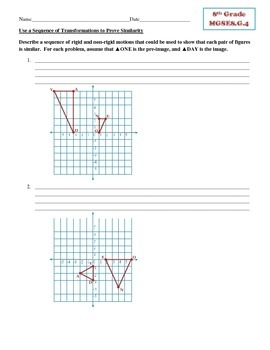 Sequences of Transformations Resulting in Similar Figures