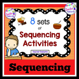 STORY SEQUENCING | SEQUENCE OF EVENTS | Picture Cards & Writing Center