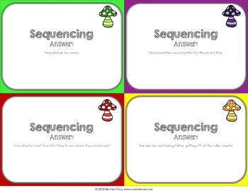 Sequencing Activity: Sequencing Reading Game