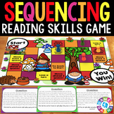 Sequencing Activity: Sequence of Events Reading Passages Game