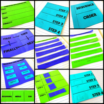 Sequencing - Reading Interactive Notebook