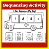 Sequence of Events Activity | Sequence of Events Worksheet | Sequencing