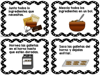 Sequencing in Spanish