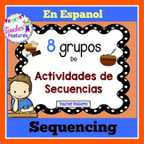 SEQUENCING | SEQUENCING IN SPANISH | SEQUENCE OF EVENTS