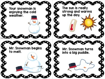 SEQUENCING ACTIVITIES & SENTENCE WRITING Winter Theme