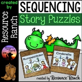 Fairy Tale and Fable Sequencing Picture Puzzles