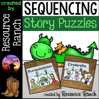 Fairy Tale and Fable Sequencing Puzzles